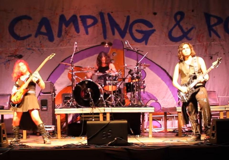 """Shall We Dance"", com Agents of Havok, no Camping Rock 2017"