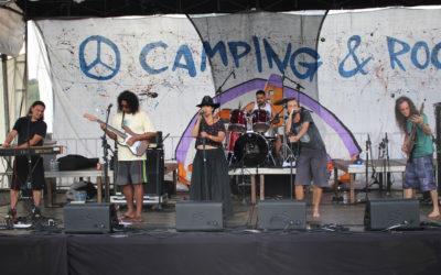 "Delírio Fantasma toca ""Eram os Deuses Astronautas"" no Camping Rock 2017"