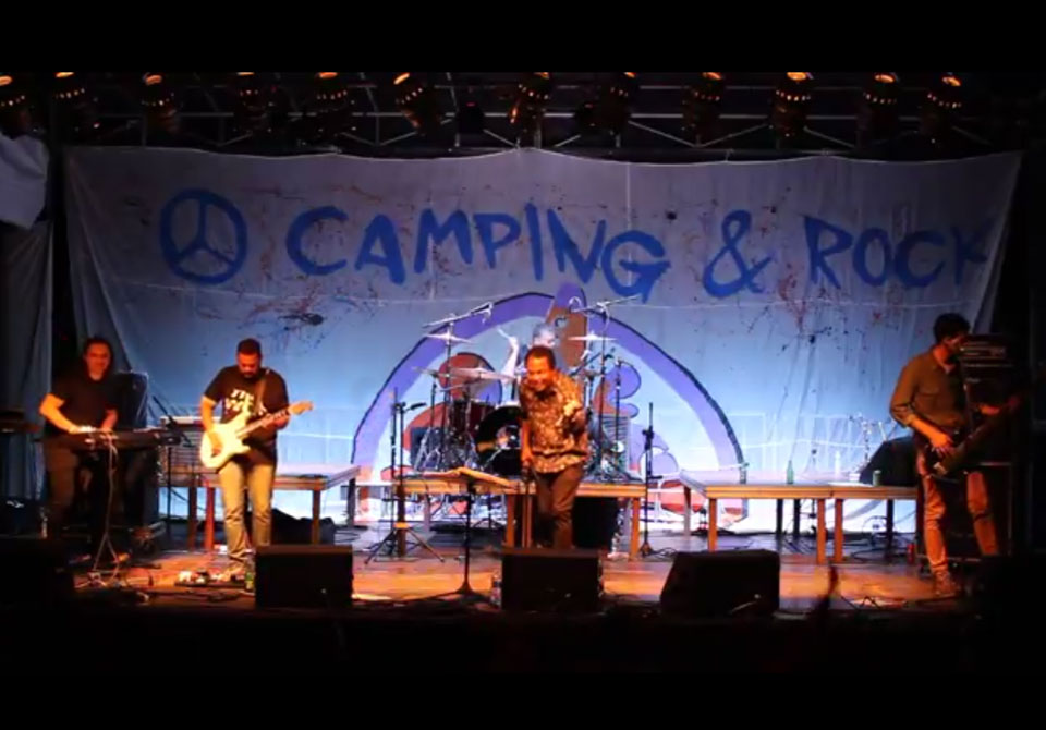 "More Beer toca ""Piece of My Heart"" no Camping Rock 2017"