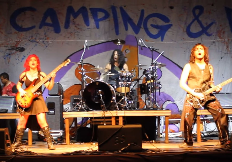 """""""The Legend You Struggled to Be"""", de Agents of Havok, no Camping Rock 2017"""