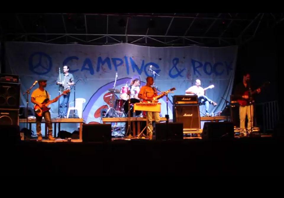 """Elfos toca """"Influências"""" no Camping Rock 2017"""