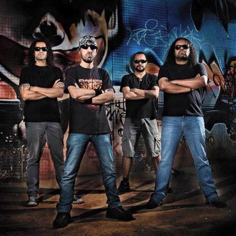 Banda Concreto confirmada no Camping Rock 2017
