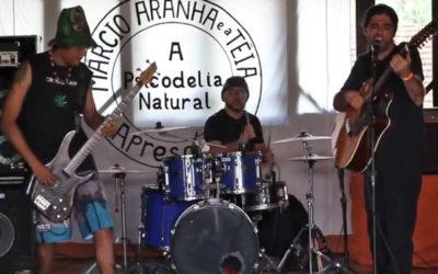 """A Realidade ao Meu Redor"": Márcio Aranha e a Teia no Camping Rock 2017"