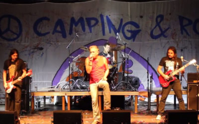 Dois petardos do Carro Bomba no Camping Rock 2017