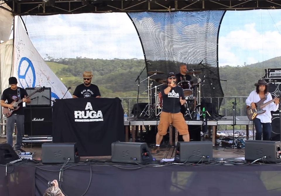 A Ruga toca no Camping Rock 2017
