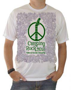 Camiseta Camping Rock 2018
